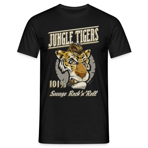 jungle tigers - Men's T-Shirt