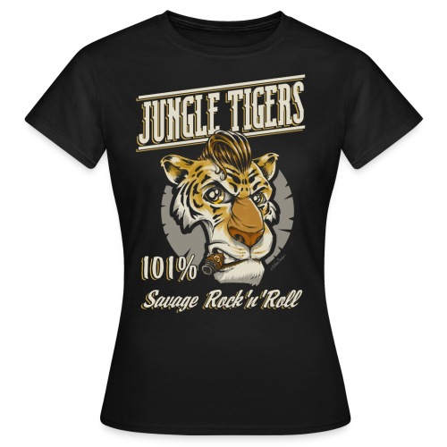 jungle tigers girl - Women's T-Shirt