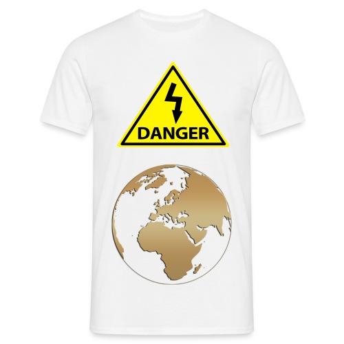 Tee-Shirt Danger Terre - T-shirt Homme
