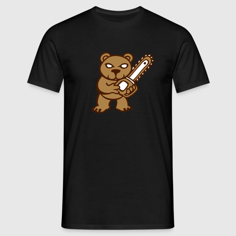ours peluche Tee shirts - T-shirt Homme
