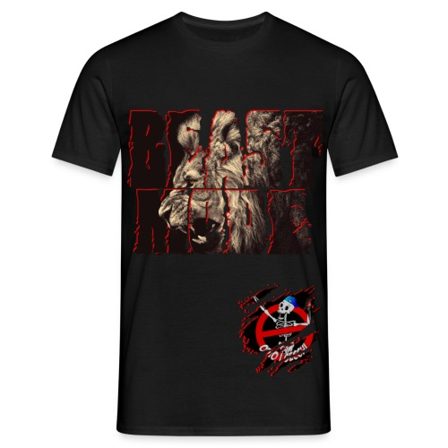 BEAST MODE T-Shirt Colorata - Maglietta da uomo