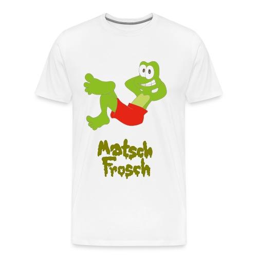 Matschfrosch macht Pause - Männer Premium T-Shirt