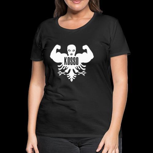 Kosso Dames Shirt (Witte Logo) - Vrouwen Premium T-shirt