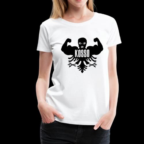 Kosso Dames Shirt (Zwarte Logo) - Vrouwen Premium T-shirt