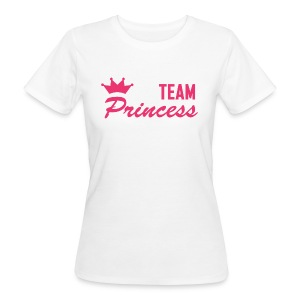 Women's Organic Team Princess Pink T - Women's Organic T-shirt