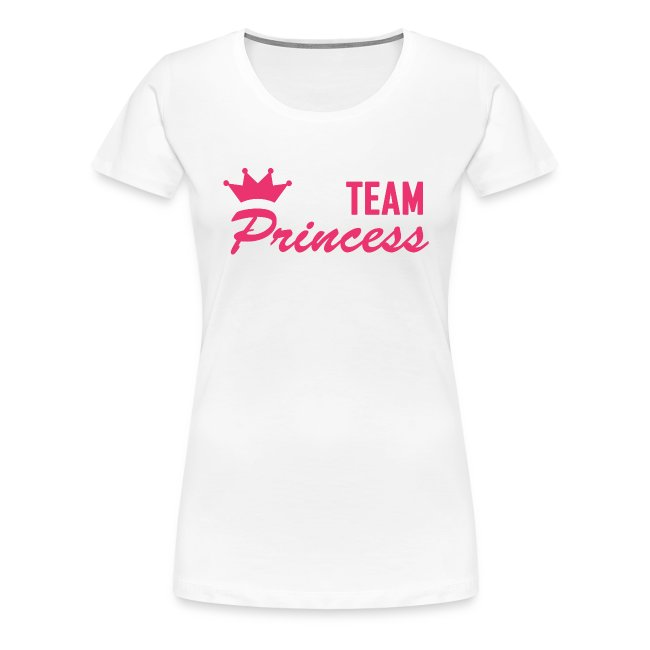 Women's Premium Team Princess Pink T Shirt