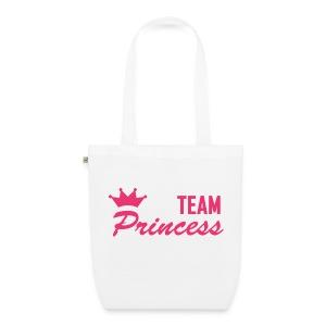 Team Princess Pink Organic Tote Bag - EarthPositive Tote Bag