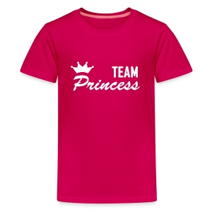Teenager Premium Team Princess White T - Teenage Premium T-Shirt