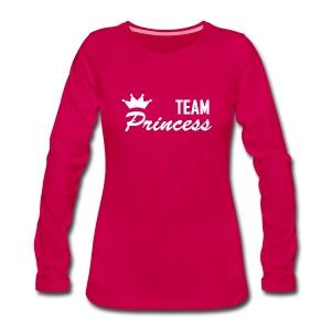 Women's Team Princess White Premium Longsleeve - Women's Premium Longsleeve Shirt