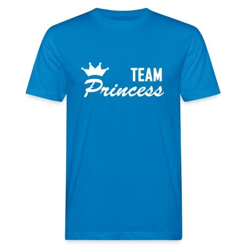 Men's Organic Team Princess White T Shirt - Men's Organic T-Shirt
