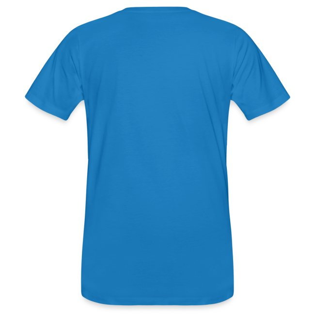 Men's Organic Team Princess White T Shirt