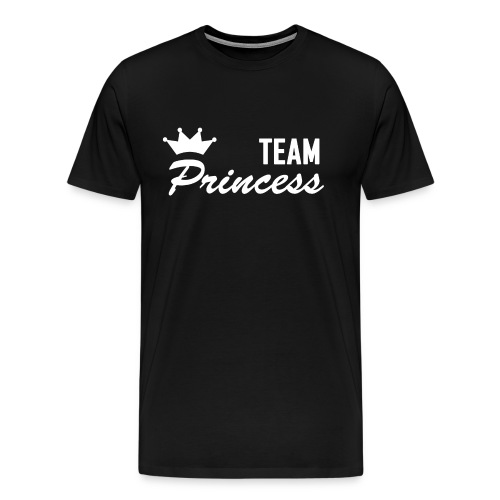 Men's Team Princess White Premium T shirt - Men's Premium T-Shirt