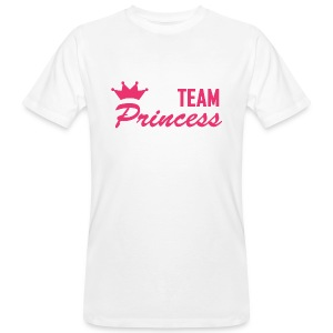 Men's Organic Team Princess Pink T Shirt - Men's Organic T-shirt