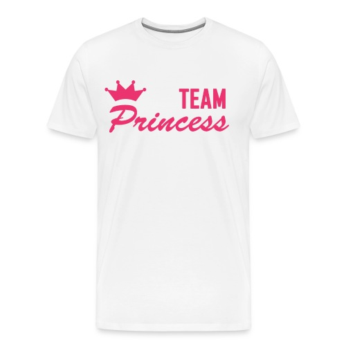 Men's Premium Team Princess Pink T - Men's Premium T-Shirt