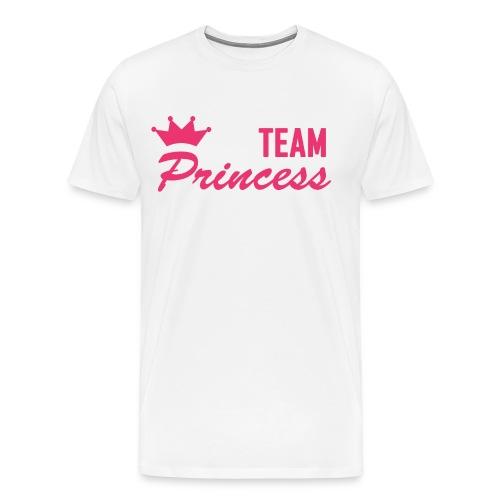 Men's Premium Team Princess Pink T - Men's Premium T-Shirt