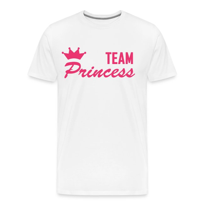 Men's Premium Team Princess Pink T