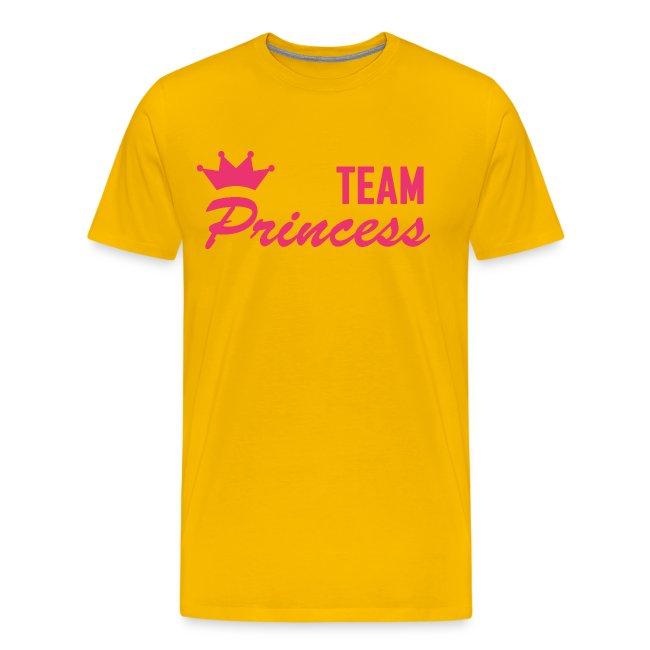 Men's Premium Team Princess Pink T