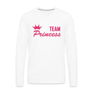 Men's Premium Team Princess Pink Longsleeve - Men's Premium Longsleeve Shirt