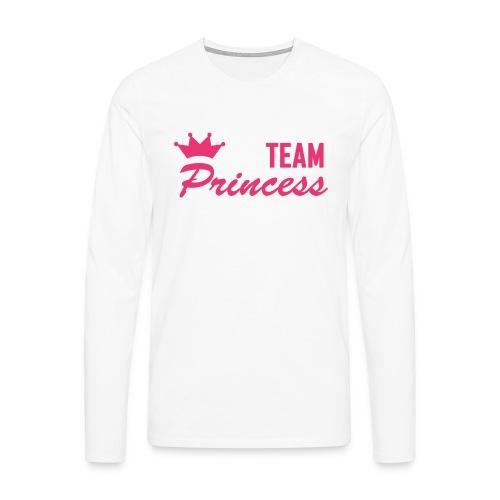 Men's Premium Team Princess Pink Longsleeve - Men's Premium Longsleeve Shirt