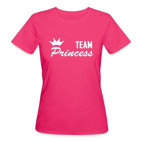 Women's Team Princess White Organic T - Women's Organic T-Shirt