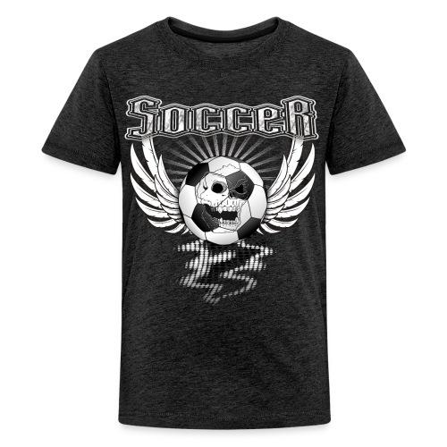 Fußball Soccer T-Shirt für Teenager - Teenager Premium T-Shirt