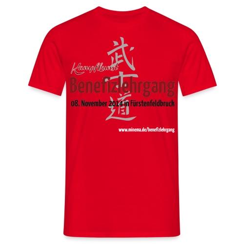 Benefizlehrgang 08.11.2014 Front - Männer T-Shirt