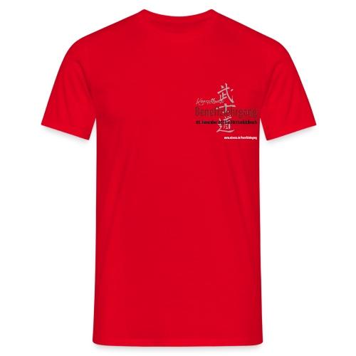 Benefizlehrgang 08.11.2014 Front & Back - Männer T-Shirt