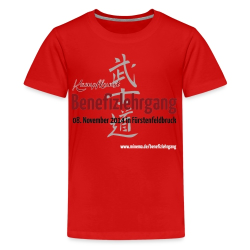 Benefizlehrgang 08.11.2014 Teens - Teenager Premium T-Shirt