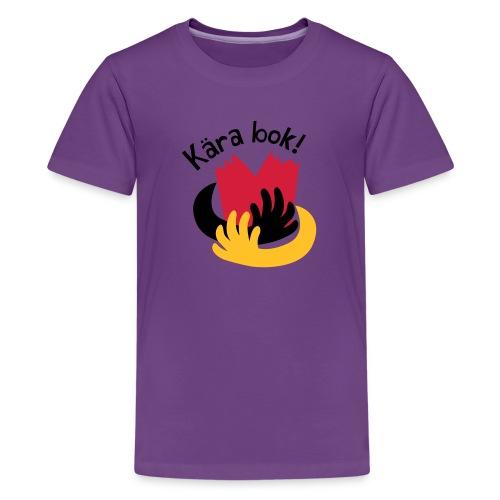 Kära bok! - Premium-T-shirt tonåring