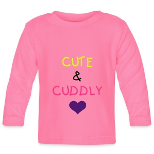 Cute and Cuddly Baby T-Shirts - Baby Long Sleeve T-Shirt