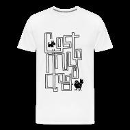 T-Shirts ~ Men's Premium T-Shirt ~ Men's Maze T (Black Print)