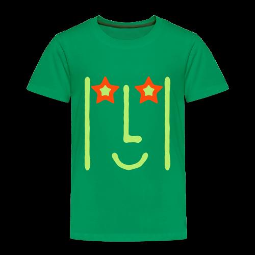 T-Shirt KDZ BrightGreen+NeonOrange • STAR - T-shirt Premium Enfant