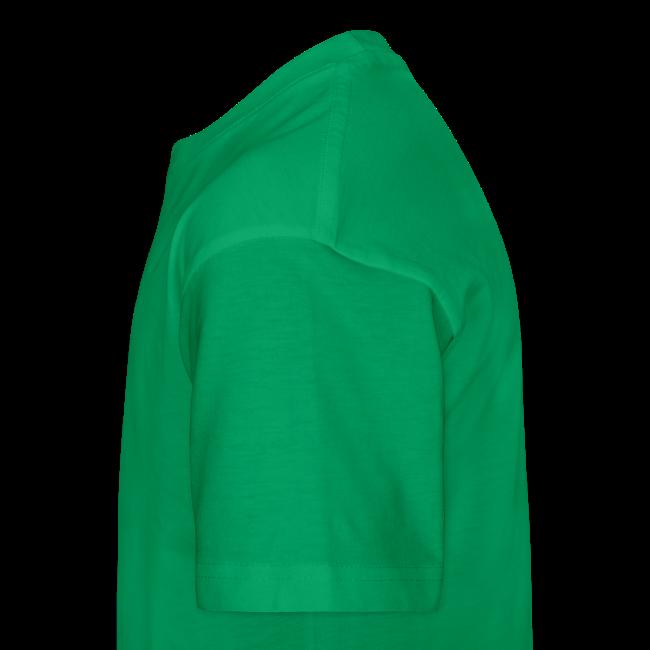 T-Shirt KDZ BrightGreen+NeonOrange • STAR