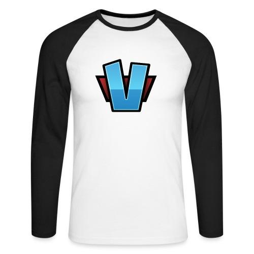 V-Logo-Hires.png - Långärmad basebolltröja herr
