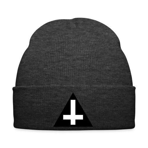 UPSIDE DOWN CROSS BEANIE  - Winter Hat