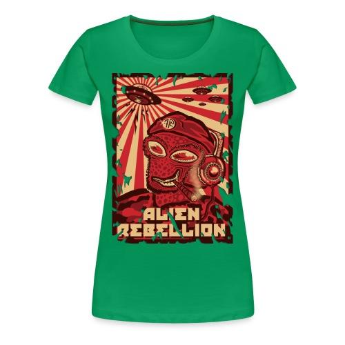 Alien Rebellion - Women's Premium T-Shirt
