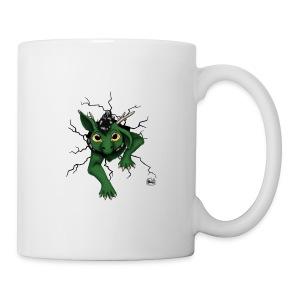 Drachi stuck green schwar