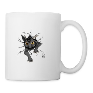 Huch?!- Drachi Dragon stuck grau/grey Tasse - Tasse