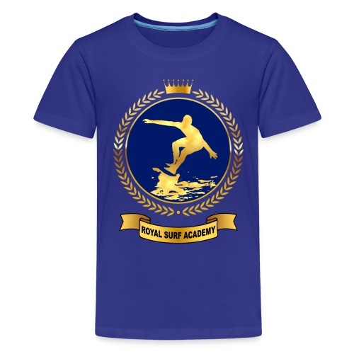Royal Surf Academy - Teenage Premium T-Shirt