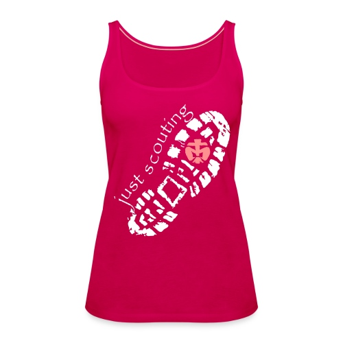 Top JUST SCOUTING Mädels - Frauen Premium Tank Top