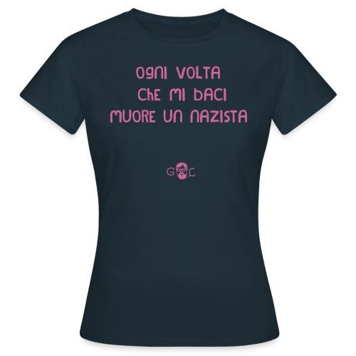 T-SHIRT ANTINAZISTA DONNA - Maglietta da donna