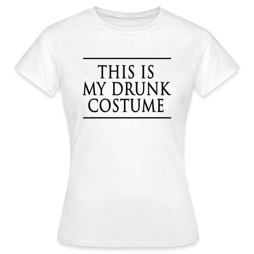 Drunk Costume Femme 2 - T-shirt Femme
