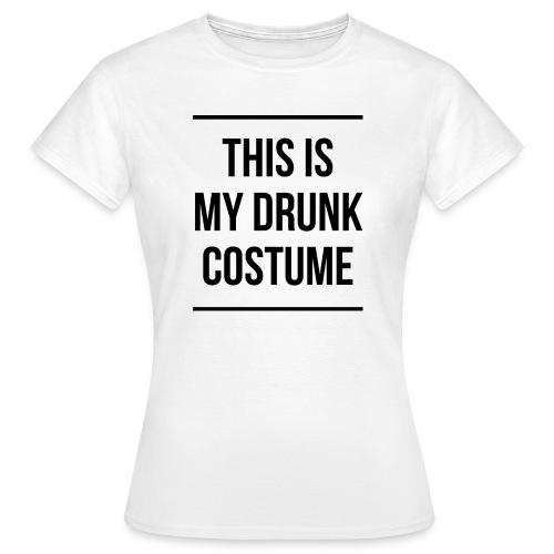 Drunk Costume Femme 3 - T-shirt Femme