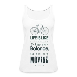 Life is Like - Frauen Top - Frauen Premium Tank Top