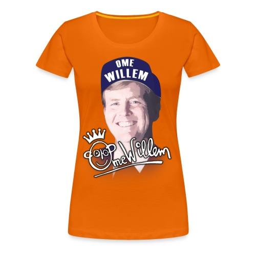 Ome Willem - Vrouwen Premium T-shirt