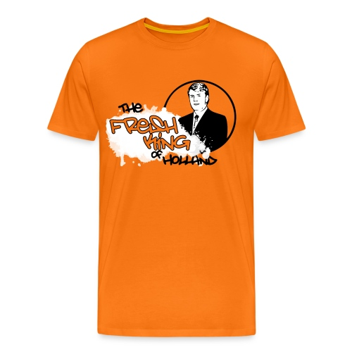 The Fresh King of Holland - Mannen Premium T-shirt