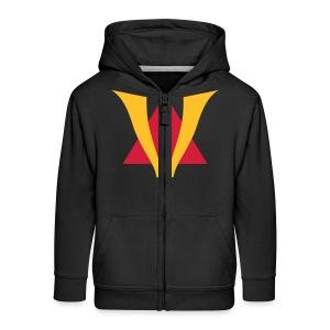 VenturianTale Logo - Kids' Premium Zip Hoodie