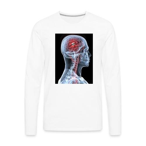 Connick on the brain! - Men's Premium Longsleeve Shirt