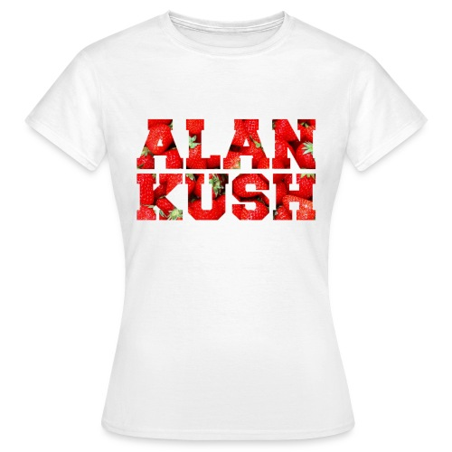 Frauen T-Shirt strawberrys weiß - Frauen T-Shirt