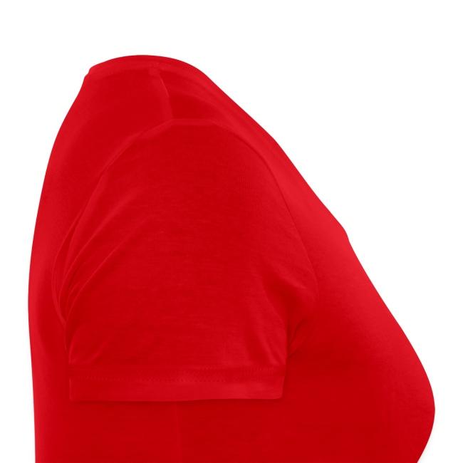 FDF Ladies V-Ausschnitt Rot